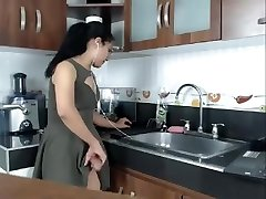 Big Dick Steamy Latin Shemale Jerks on Cam