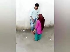Indian Lover Romance Outdoor, Desi Damsel Boy Romance, village