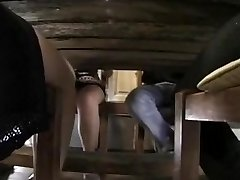 Classic pornography clip featuring a sex luving French family