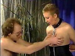 O Cabelo Curto Milfy Curvas Escravo Frau