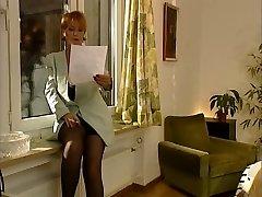 Vokietijos Klasikinis MILF, Kad abiturientų