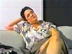 naudojant plaktukas, kaip dildo - svensk retro 90's
