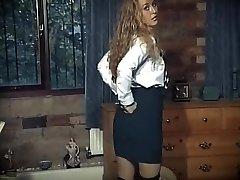 영국 학교 여자복 스트립