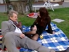 Horny amateur Stockings, Vintage adult clip