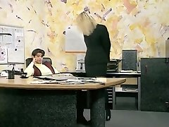 Incredible first-timer Office, Stockings sex clip