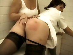 Pool spanking