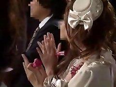 पागल जापानी मॉडल रियो सकुरा, Aiko हिरोसे में शानदार विंटेज जापानी क्लिप