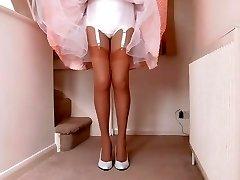 retro suknelė ir apatinis trikotažas (4 tomas)