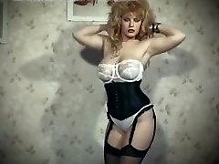The skin trade - vintage 80 ginormous tits blonde strip dance