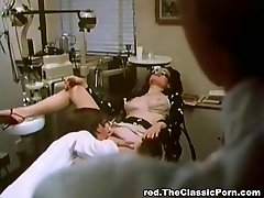Doctor romps sexy lady in a cabinet