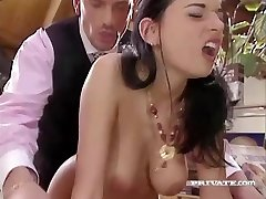 Slutty Maif Amanda Helps her Chief Relieve