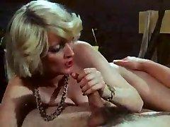 Suur Vintage Stseen sisaldab Seksikas Blond Ema ma tahaksime, Et Kurat