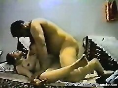 Vintage arab amateur duo make hard homemade buttfuck