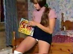 Vintage Kız Öpüşme