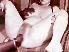 Excellent antique creampie