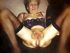 a creampie white only