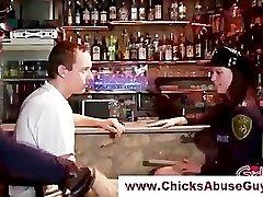 Raguotas femdom policijos hotties
