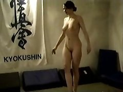 Naken Brunette Catfight
