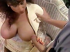 Sarah Young tit fuck and facial