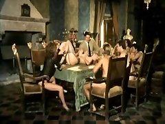 Moana Pozzi and Angelica Bella ass fucking orgy - Anal Stars (1991)