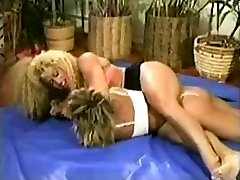 Antique female wrestling