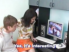 Brother & Sister Watching Porn and Doing The Same