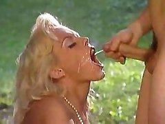 Kelly Trump catching sperm shot