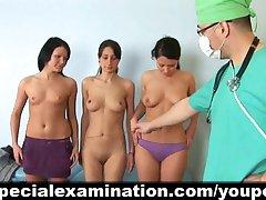 Trio få speciella granskas av strikt läkare