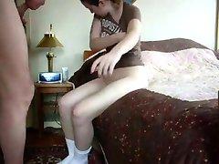 STP1 Granddad Fills Her Tight Little Cunt !