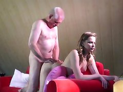 Experienced young escort ass rimming in the craziest fucking with old man