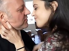 Old Men French Kissing & Making Out With Young Teens Vol 1