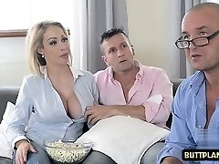 Big udders pornstar titty fuck and spunk in mouth