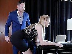 Submissived - Bashful Secretary Pussy Demolished By Boss