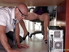 Boss Lela Starr gets hold of her colleague's monstrous dick