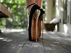 High high stilettos