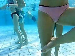 very wondrous  portuguese teen at pool witness nice mount
