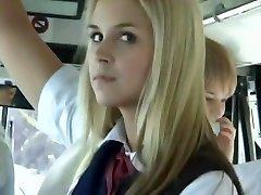 Bus Full of Blondie School Girls 3