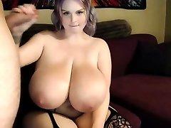 Misti Love Bouncing Her Immense Natural Boobs Riding A Big Man Rod