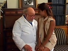 Horny schoolgirls banging in the library