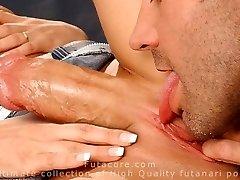 Shocking, real, super-steamy fucking futanari ladies compilation by FutaCore