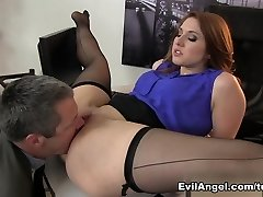 Jaw-dropping pornstars Jimmy Broadway, Rose Red in Epic Redhead, Big Booty xxx video