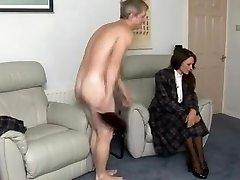 Stellar amateur European, Brunette sex clip