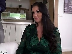 Anissa Jolie is a fantastic giant breasted cowgirl who luvs double penetration