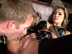 Dangerously scorching MILF Esperanza Gomez gets her puss eaten out and fucked prettily