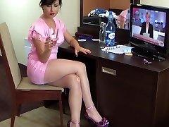 polish glamour milf stockings rosy
