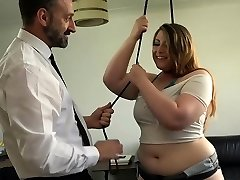PASCALSSUBSLUTS - English Plumper Estella Bathory fed dom jism