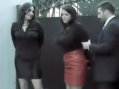 2 girls arrested and offered a deal (Gotcuffs)