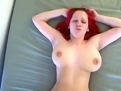 Orgasmic bouncing globes fucked rock-hard by young BF