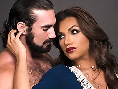 Jaxton Wheeler & Jessy Dubai in Transsexual Sister In Law - TransSensual