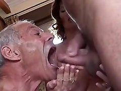 Bisexual hotwife couple MMF
